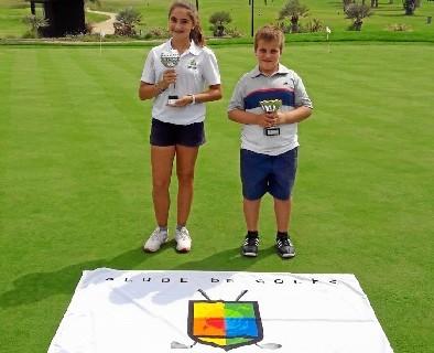 Triunfos de Laura López y Marcos Ramírez en el 21º Trofeo Vilamoura Junior Golf