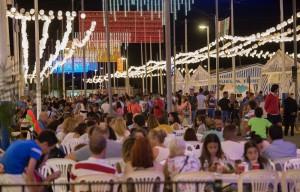 Una imagen de las Fiestas Colombinas del pasado año.
