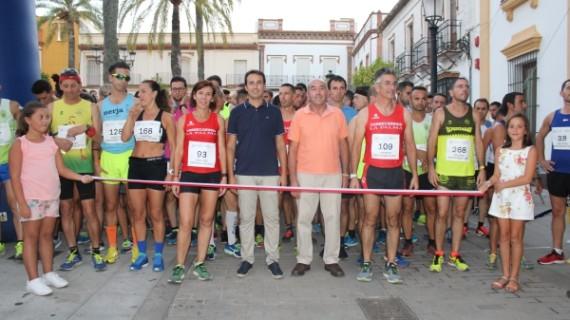 Celebrada con éxito la II Carrera Nocturna Virgen del Valle en La Palma del Condado