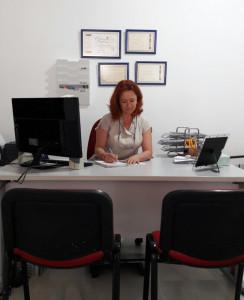 Mari Carmen ha trabajado en varios rodajes.