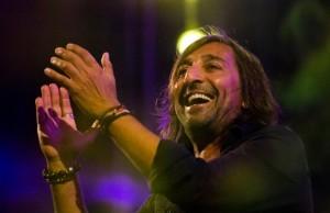 Antonio Carmona, una de las estrellas de las actuaciones musicales en Trigueros.