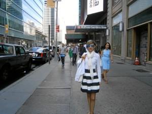 Virginia lleva a cabo una intensa labor docente e investigadora. / En la imagen, en una visita a Nueva York.