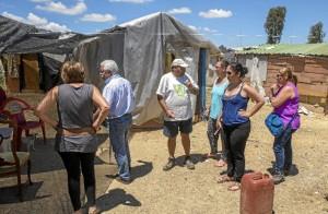 Encuestas destinadas a elaborar la historia social de los residentes del asentamiento de Las Metas.
