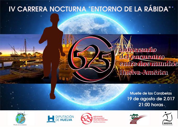 Abierto el plazo de inscripción para la IV Carrera Nocturna Entorno de La Rábida