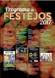 Programa de Festejos 2017.