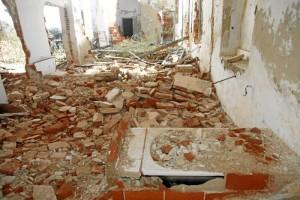 Denuncian que el enclave se encuentra en estado de ruina.