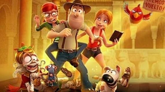 El Ciclo Naturgy de Cine Itinerante viaja a Cartaya con Tadeo Jones 2. El secreto del Rey Midas