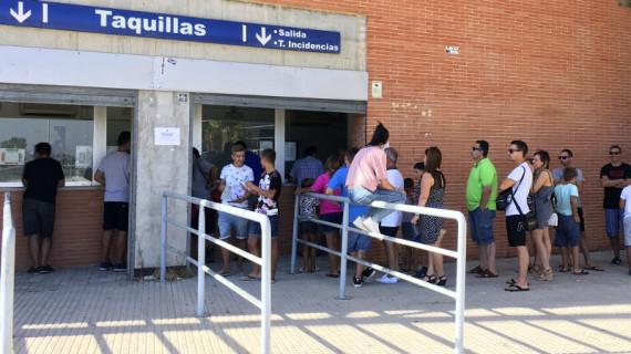 El Recre comenzará a vender este miércoles las 361 entradas con las que cuenta para el partido ante el Mirandés