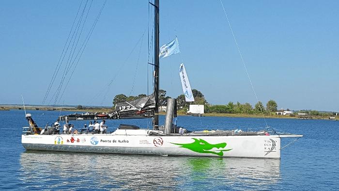 La embarcación VO70 Green Dragon competirá en la presete edición de la Regata Oceánica.
