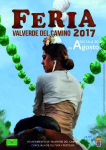 Cartel de la Feria 2017 de Valverde del Camino.