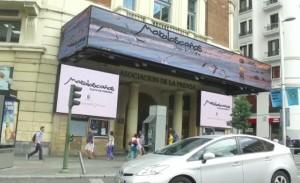 Lugar donde se está proyectando el vídeo promocional de Matalascañas.