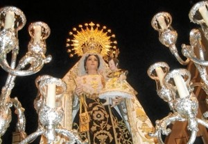 Villalba del Alcor celebra sus fiestas en honor a la Virgen del Carmen.