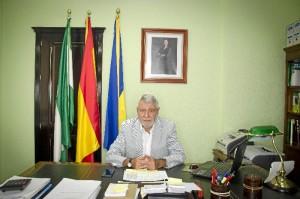 El alcalde de Villarrasa, Ildefonso Martín.