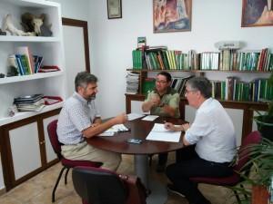 El delegado ha visitado el Cabildo Viejo de Aracena.