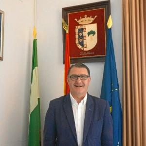 El alcalde de Villablanca y director Festival, José Manuel Zamora.