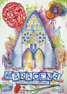Cartel de la Feria de Aracena 2017.