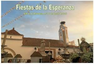 Cartel de las Fiestas de La Esperanza en La Redondela 2017.