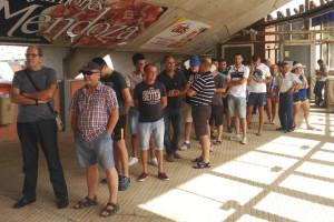 La afición recreativista acudió en masa al primer día de la campaña de abonados / Foto: Recreativo de Huelva