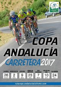 Cartel de la Copa Andalucía Carretera 2017.
