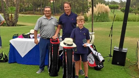 La pareja formada por Mariano Hergueta Crespo y Mariano Hergueta Fernández logra el Pro-Shop de Islantilla Golf Resort