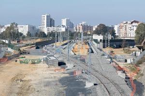 La estación estará funcionando dentro de un año.  / Foto: Asociación de Amigos del Ferrocarril de Huelva.