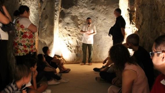 La magia del dolmen triguereño se ha hecho protagonista este verano en 'Las Lunas de Soto'