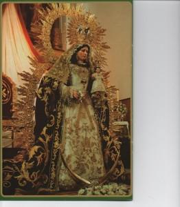Virgen de las Virtudes, patrona de Paterna del Campo.