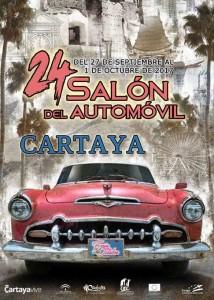 Cartel de la 24 edición del Salón del Automóvil de Cartaya.