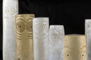 Tres ídolos del yacimiento Seminario-La Orden viajan al Museo Arqueológico Nacional.