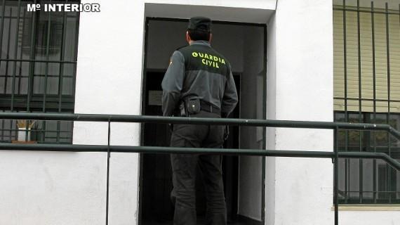 Detenido un varón en Cartaya por diversos robos en fincas rurales