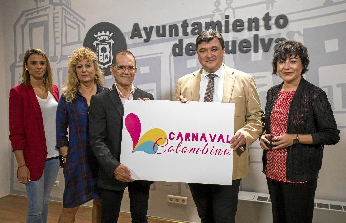 Un momento de la presentación de la nueva imagen del Carnaval Colombino.