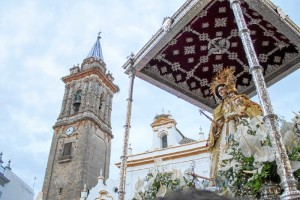 El 12 de septiembre Bollullos se vuelca con la celebración del día de su Patrona, Nuestra Señora de las Mercedes.