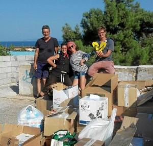 Una experiencia inolvidable la vivida en Lesbos.