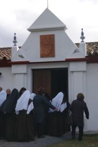 Imagen del Convento de las Carmelitas de Cumbres Mayores. / Foto: Diócesis de Huelva.