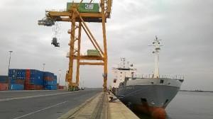 Ya está operativa la escala en el Puerto de Huelva una línea regular de contenedores de la compañía W.E.C Lines.