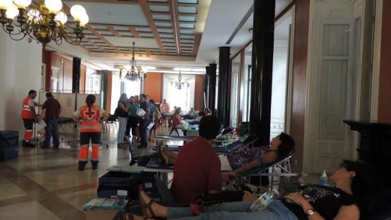 El Centro de Transfusión organiza su tradicional macrocolecta previa a las fiestas navideñas