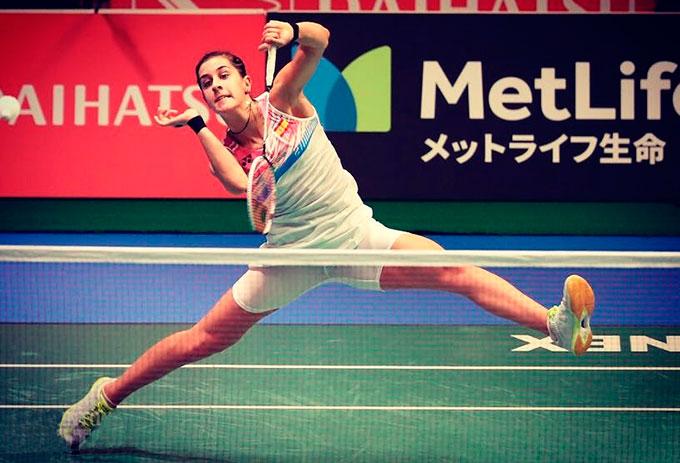 Carolina Marín inicia con triunfo su andadura en el Open de China.
