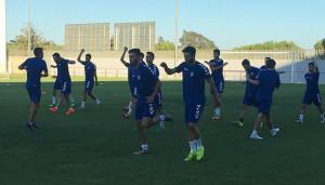 El Cartaya, único onubense de la División Andaluza que juega en casa, ha preparado a fondo su partido ante el Viso. / Foto: @AD_Cartaya.