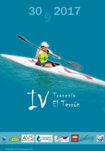 Cartel de la prueba náutica que tendrá lugar este sábado en El Terrón.