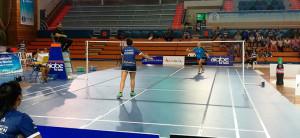 Prometedor debut de Nerea Ivorra, que ganó su partido de individuales.