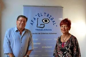 Trigueros conmemora el Día Mundial del Alzheimer.