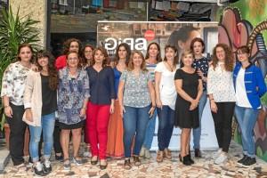 Imagen de las finalistas andaluzas al Premio 'Gira Mujeres'.
