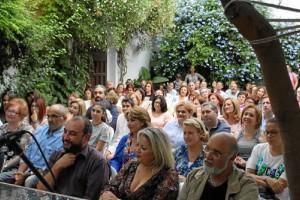 Gran apoyo del pueblo de Moguer.