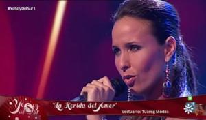 Ana empezó a cantar con sólo ocho años.