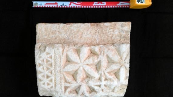 Hallada en Beas la pieza más destacada de arte de época visigoda de la provincia