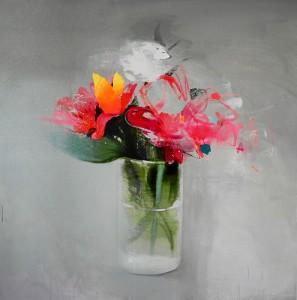 Los cuadros que mostrará en la Gran Manzana pertenecen a su última serie, 'Naturaleza doméstica'.