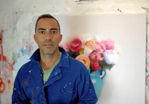 El pintor onubense Fran Mora.