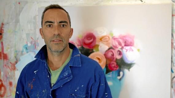 El artista onubense Fran Mora desembarca en la Affordable Art Fair de Nueva York