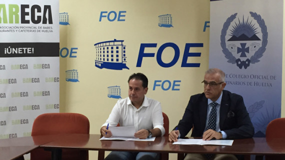 Veterinarios y hosteleros firman un compromiso de seguridad alimentaria para la I Feria de la Tapa