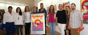 Presentación del cartel del Carnaval isleño 2018.